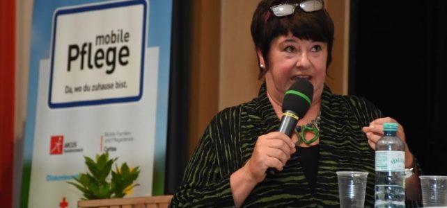 Sonja Schiff am Fachtag der mobilen Pflege Oberösterreich