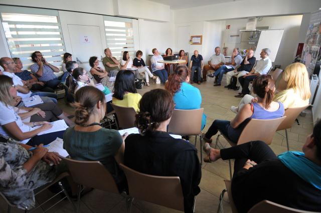 Sehr gut besuchte Session von Michael Hagedorn aus Hamburg/ Konfetti im Kopf