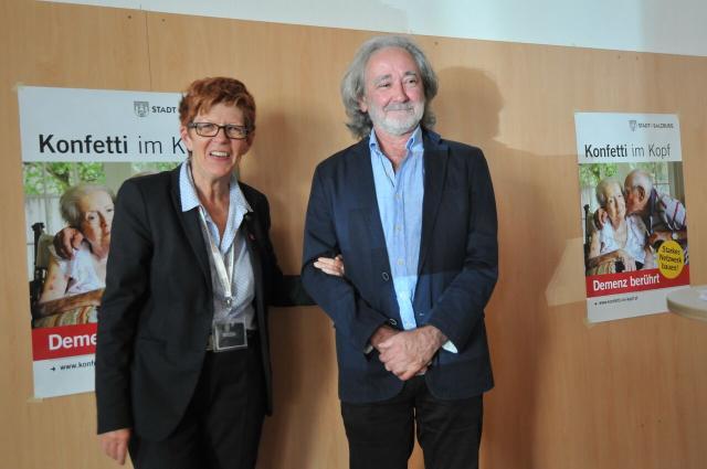 ImpulsreferetnInnen: Helga Rohra und Erich Schützendorf